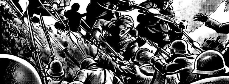 ComicScene Podcast spotlights Great War Dundee Comic